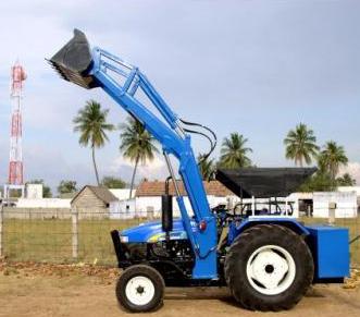 Loader 50 HP Tractors